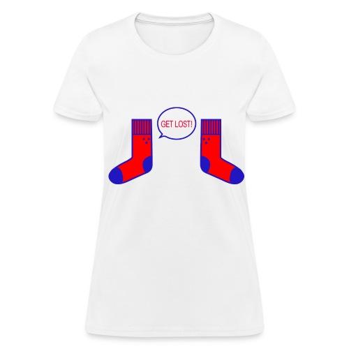 Women Get Lost Tee - Women's T-Shirt