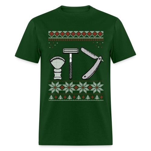 Wet Shaving Holiday Tee - Men's T-Shirt