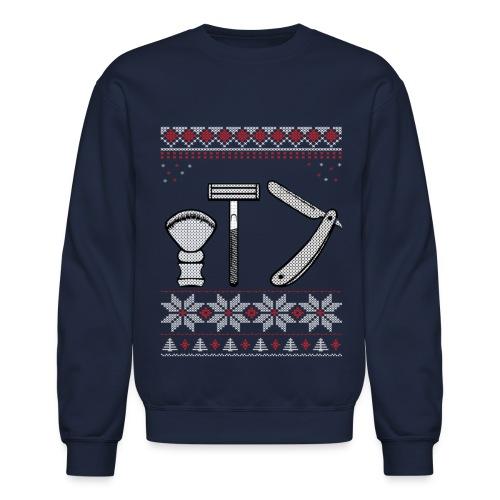 Wet Shaving Holiday Crewneck - Crewneck Sweatshirt