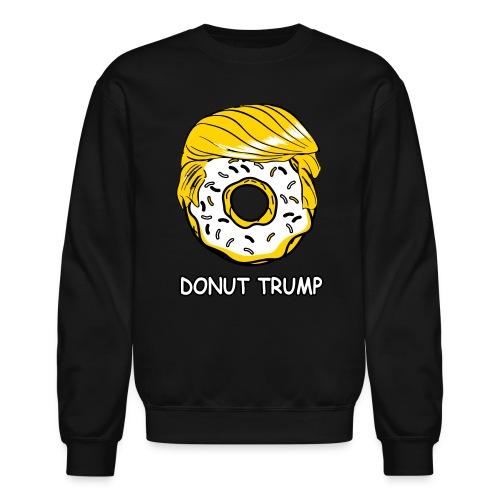 Donut Trump Crewneck - Crewneck Sweatshirt