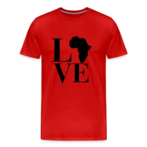 LOVE AFRIKA - Men's Premium T-Shirt