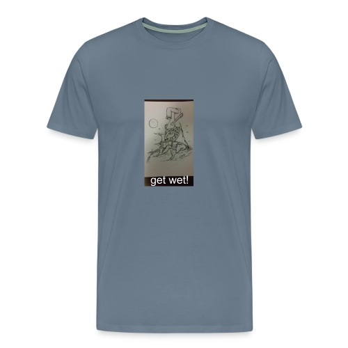 bath time - Men's Premium T-Shirt