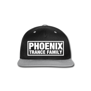 PTF Grey/Black Snapback - Snap-back Baseball Cap