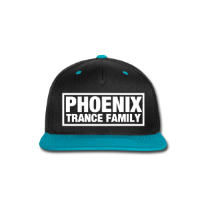 PTF Teal/Black Snapback - Snap-back Baseball Cap