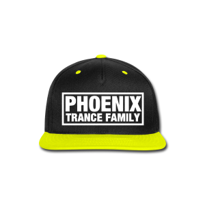 PTF Yellow/Black Snapback - Snap-back Baseball Cap