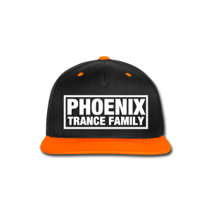 PTF Orange/Black Snapback - Snap-back Baseball Cap