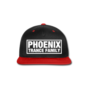 PTF Red/Black Snapback - Snap-back Baseball Cap