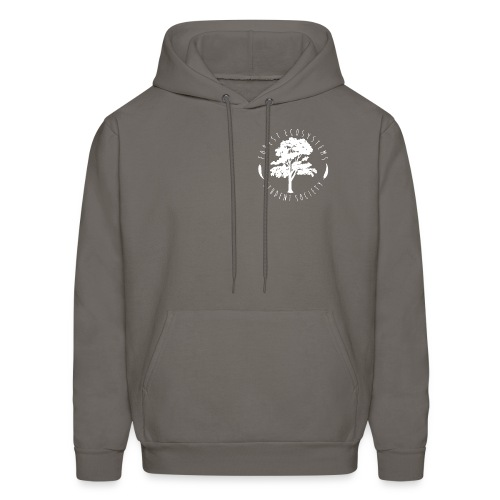 FESS white logo front and back - Men's Hoodie