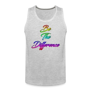 Be The Difference Mens Rainbow Tank - Men's Premium Tank