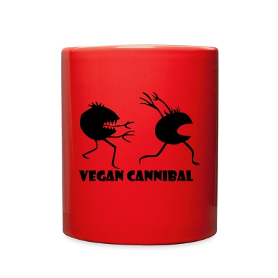 Vegan Cannibal colored mug - Full Color Mug