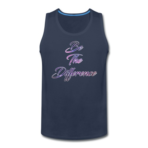 Be The Difference Mens Galaxy Tank - Men's Premium Tank