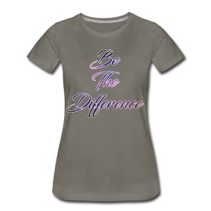 Be The Difference Womens Galaxy Shirt  - Women's Premium T-Shirt