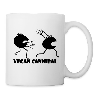 Vegan Cannibal mug - Coffee/Tea Mug