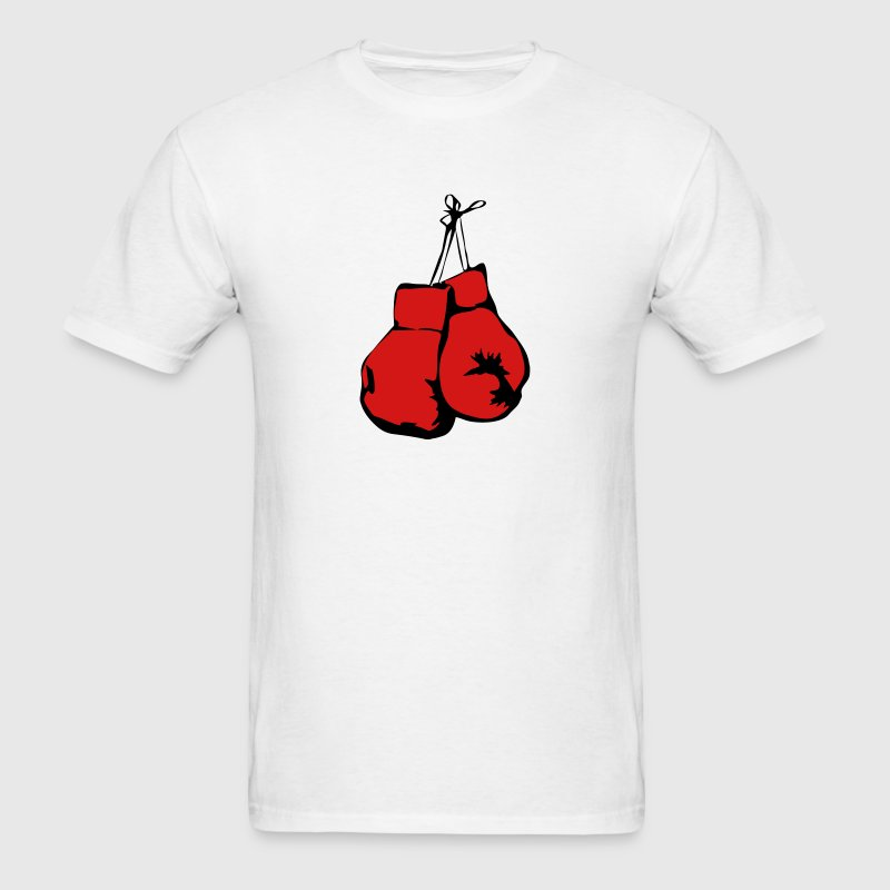 Hanging Boxing Gloves T-Shirts - Men's T-Shirt