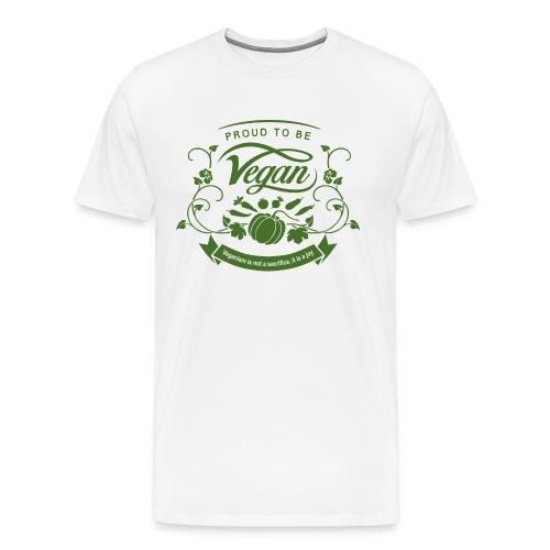 Proud to be Vegan Green - Men's Premium T-Shirt