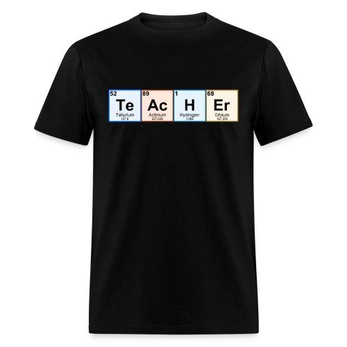 Periodic Table Chemistry Teacher - Men's T-Shirt