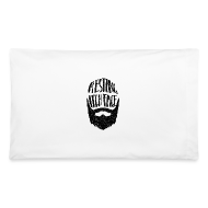 Other ~ Pillowcase ~ Resting Itch Face - Funny Beard Pun