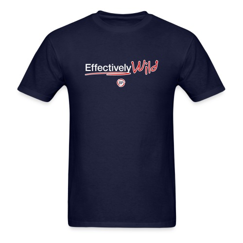 Effectively Wild Logo - Men's T-Shirt (premium print)  - Men's T-Shirt