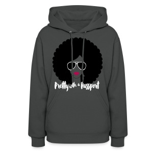 Pretty With A Passport - Women's Hoodie