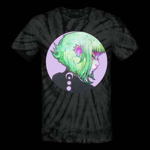pinkpunk - tie dye unisex tee - Unisex Tie Dye T-Shirt