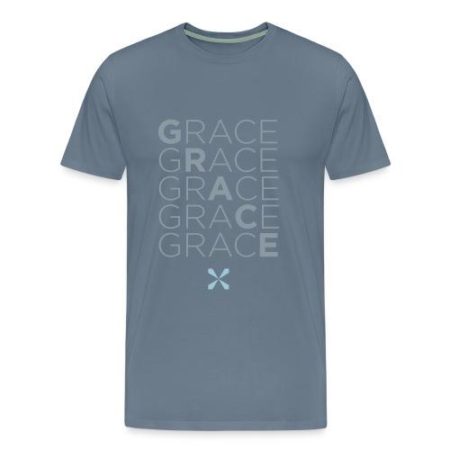 Stacked Grace - Men's Premium T-Shirt