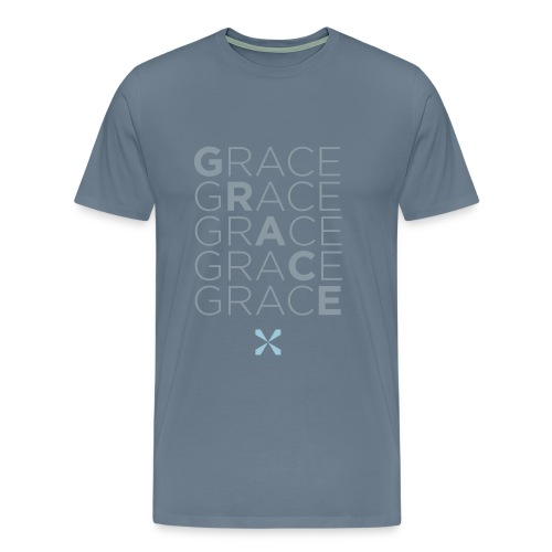 Stacked Grace - Men's Premium T-Shirt