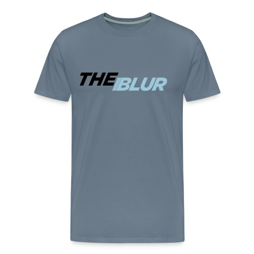 The Blue Blur - Men's Premium T-Shirt
