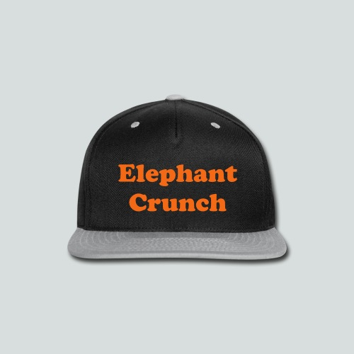 Elephant Crunch Cap - Snap-back Baseball Cap