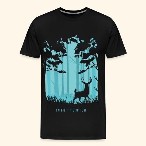 INTO THE WILD T-Shirts - Men's Premium T-Shirt