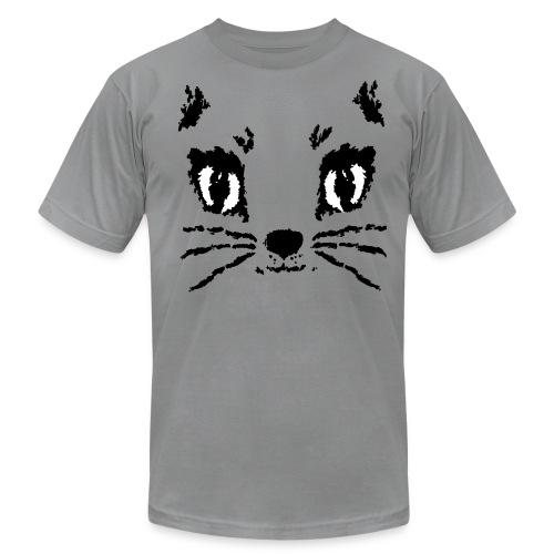 Bella Cat Face (Men's T-shirt, select colors) - Men's Fine Jersey T-Shirt