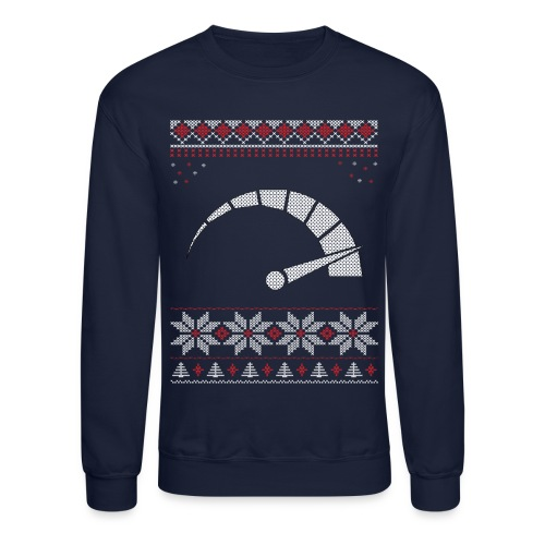 Tachometer Christmas/Holiday Crewneck Sweatshirt - Crewneck Sweatshirt