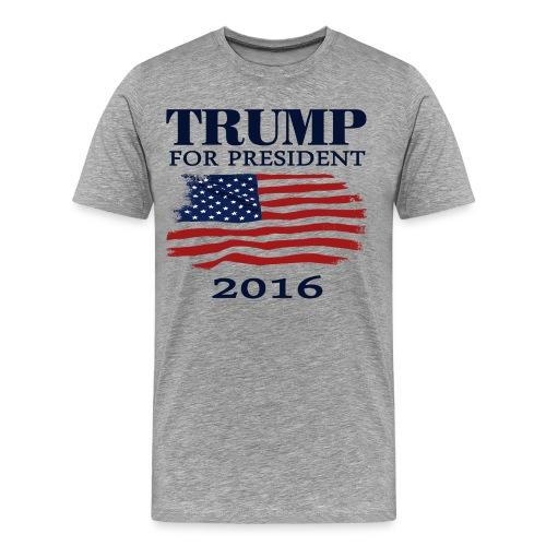 Trump for President tank - Men's Premium T-Shirt