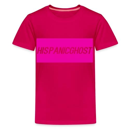 HispanicGhost Kids T-Shirt Pink - Kids' Premium T-Shirt