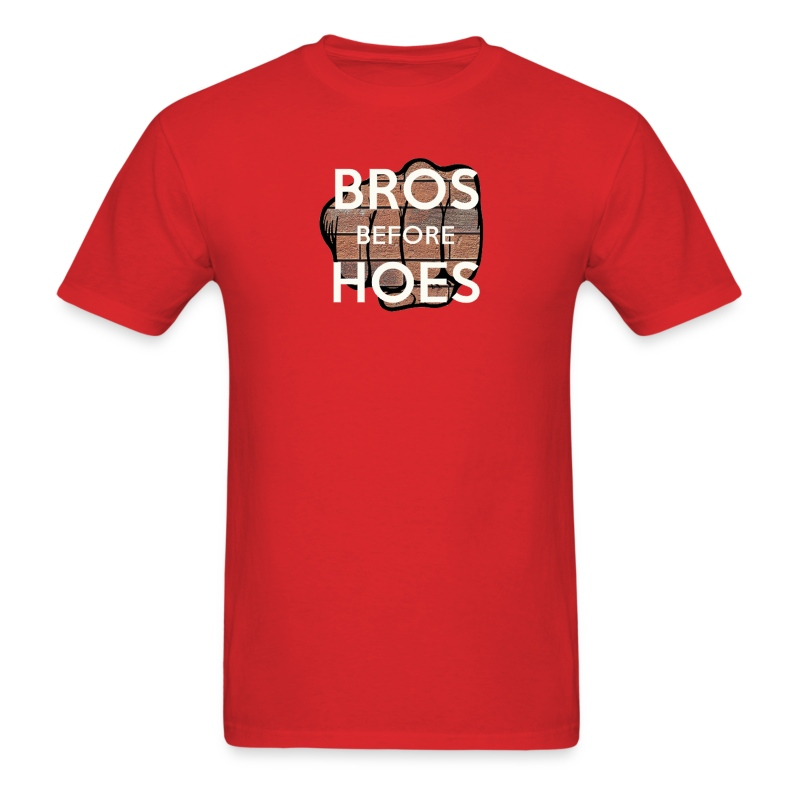 Bros before hoes - Men's T-Shirt