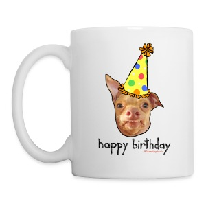 Happy Birthday in English - Coffee/Tea Mug