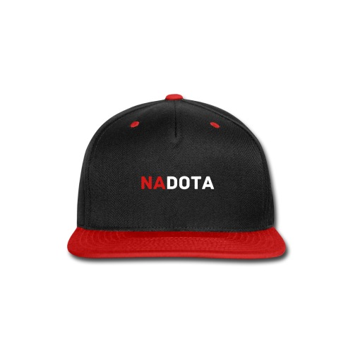 NADotA Snapback (Black) - Snap-back Baseball Cap