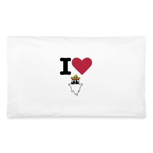 I Heart HispanicGhost Pillow - Pillowcase