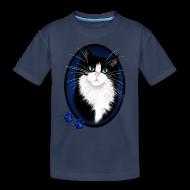 Kids' Shirts ~ Kids' Premium T-Shirt ~ TUXEDO and Paws