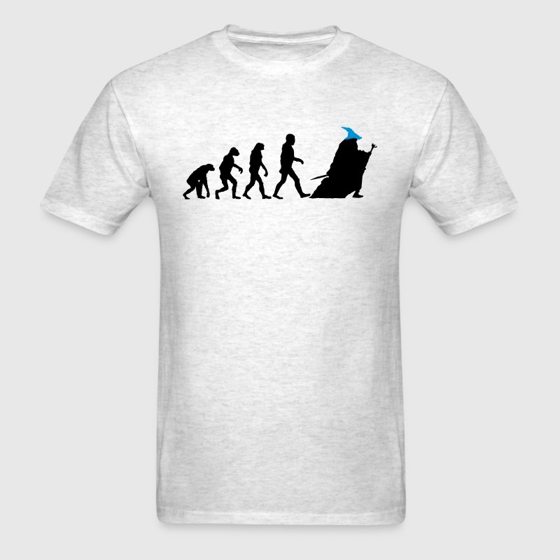Evolution of Gandalf (LOTR / Hobbit) T-Shirts - Men's T-Shirt