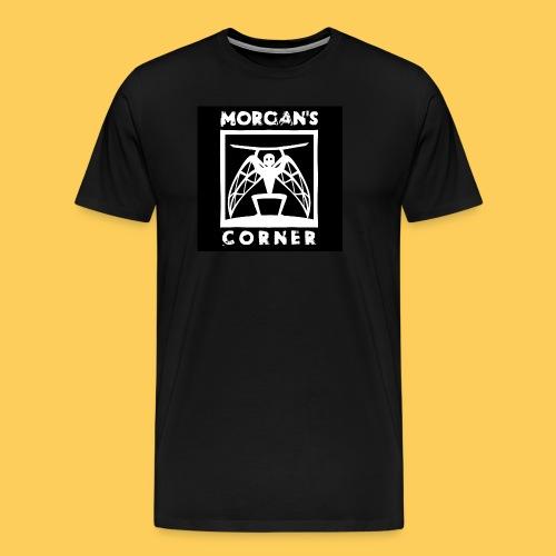 Men's Premium White Guardian Tee - Men's Premium T-Shirt