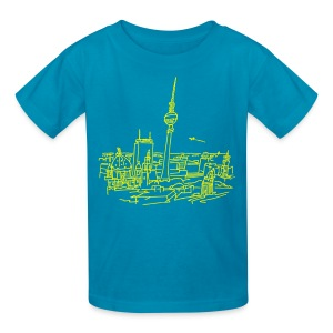 Panorama of Berlin - Kids' T-Shirt