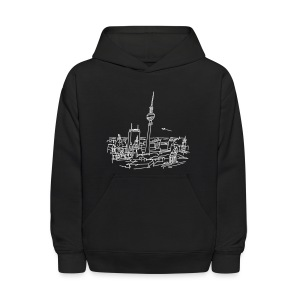 Panorama of Berlin - Kids' Hoodie