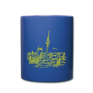 Panorama of Berlin - Full Color Mug