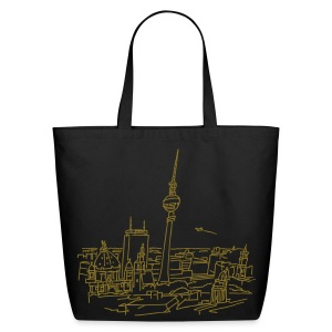 Panorama of Berlin - Eco-Friendly Cotton Tote