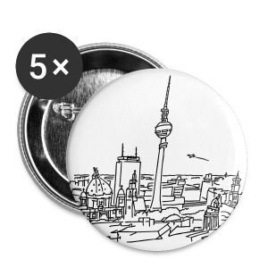 Panorama of Berlin - Small Buttons
