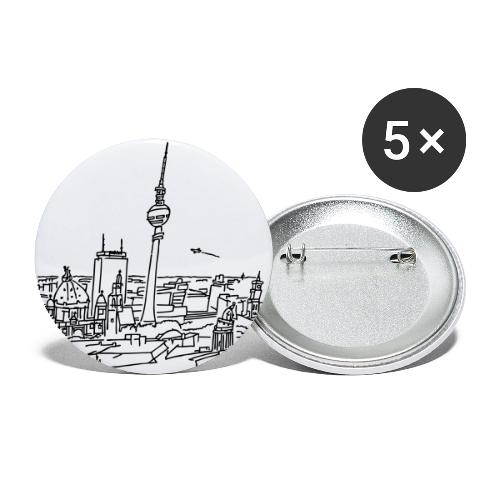 Panorama of Berlin - Buttons small 1'' (5-pack)