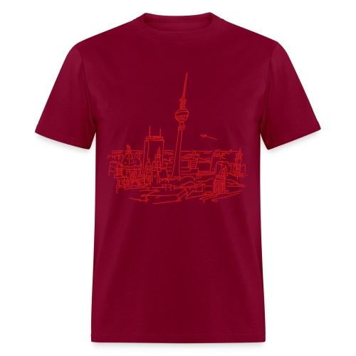 Panorama of Berlin - Men's T-Shirt