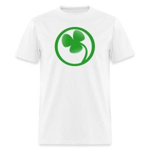 noL logo white - Men's T-Shirt