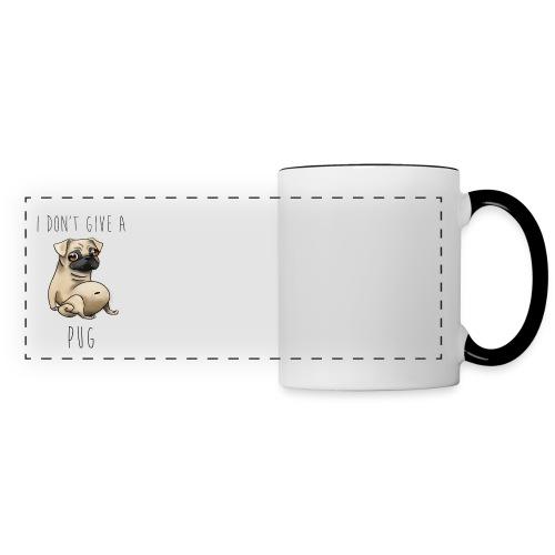 I Don't Give a Pug! - Panoramic Mug