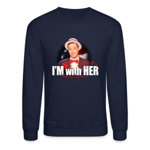 RR I'M WITH HER CREWNECK SWEATSHIRT - Crewneck Sweatshirt